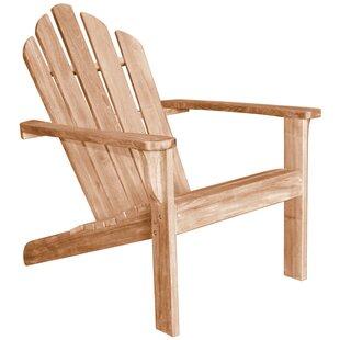 Lakeside Teak Adirondack Chair