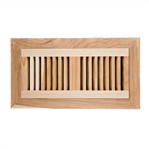 default name. Image Wood Vents 6 75  x 14 5  Hickory Wood Flush Mount Vent Cover