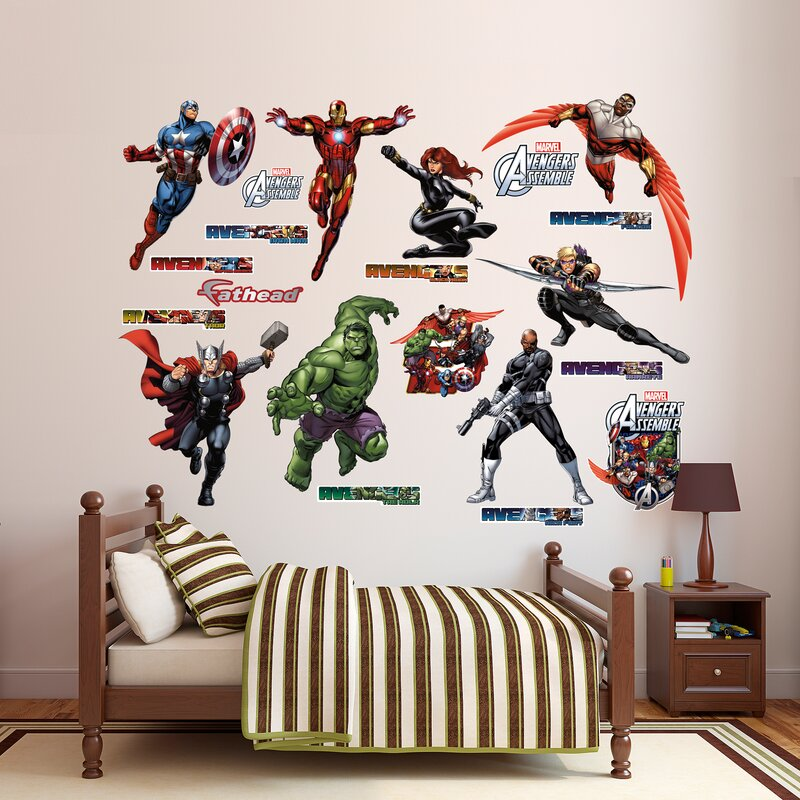 Genial RealBig Marvel Avengers Assemble Wall Decal
