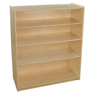 Burel Standard Bookcase Red Barrel Studio Savings