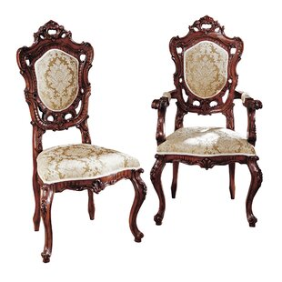 Awesome Design Toscano Toulon French Rococo Dining Chair Exfurniture Short Links Chair Design For Home Short Linksinfo