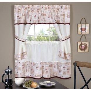 small window treatments bedroom alarice window curtain set small curtains wayfair