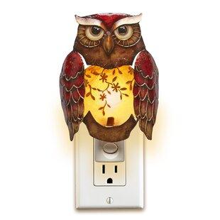 August Grove Eshelman Decor Owl Night Light