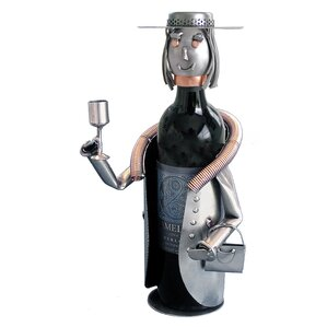Sophisticated Lady 1 Bottle Tabletop Wine..