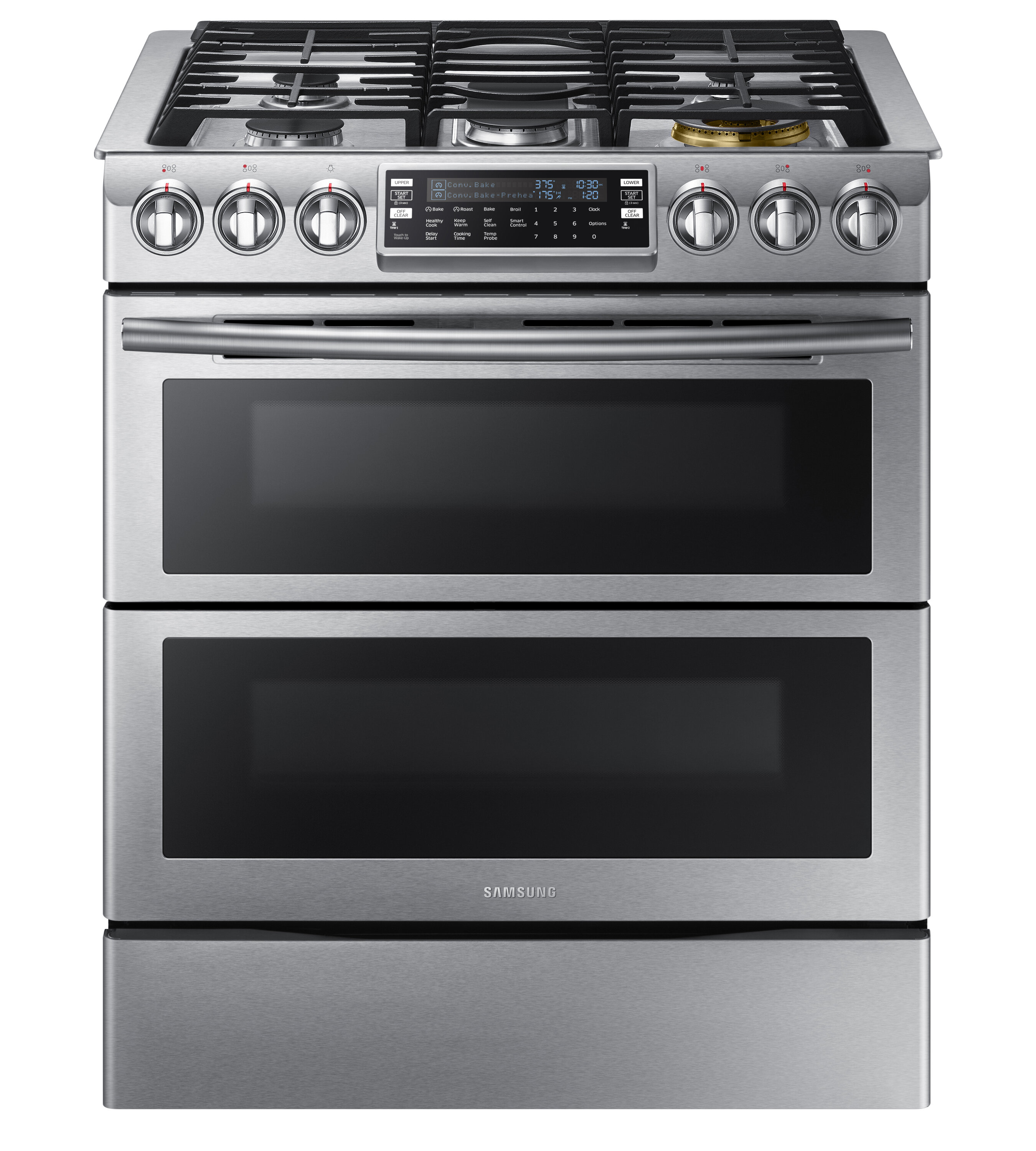 5 8 Cu Ft Smart Slide In Gas Range