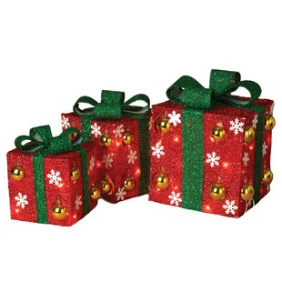 3 piece electric gift box set - Decorative Christmas Gift Boxes With Lids