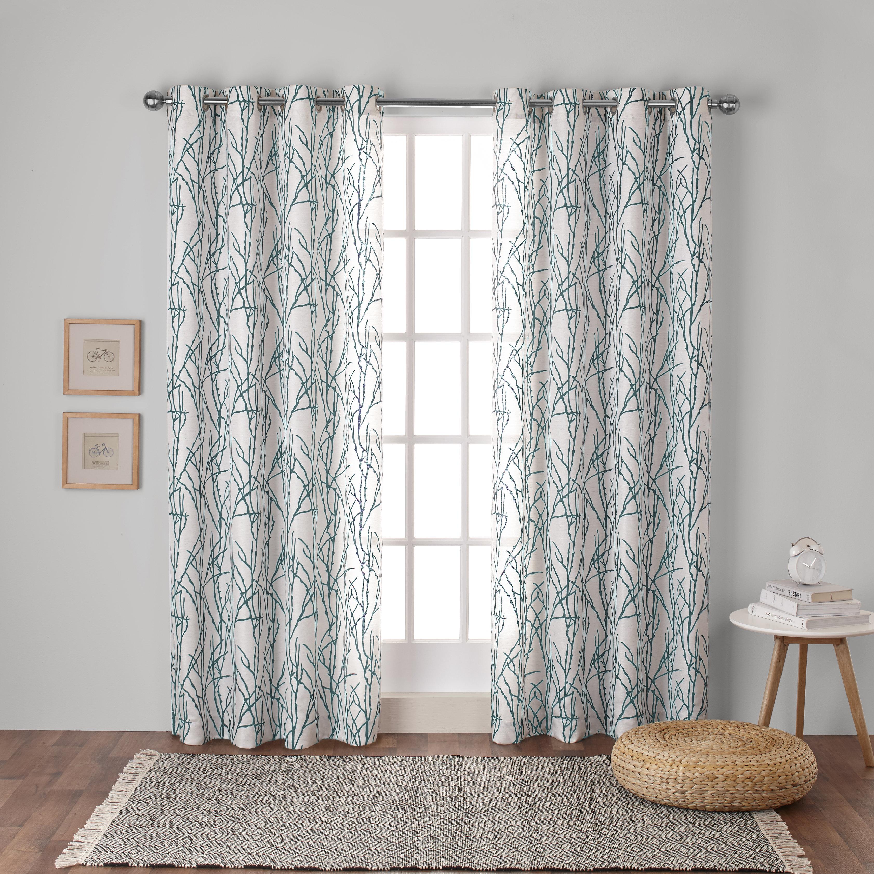 Modern Farmhouse Curtains Drapes You Ll Love In 2021 Wayfair