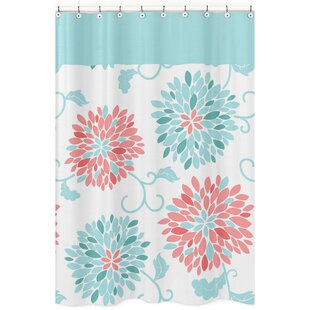 Best Deals Emma Shower Curtain By Sweet Jojo Designs