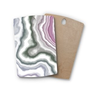 Birchwood Wild Boysenberry Geological Cutting Board By East Urban Home