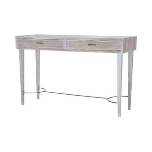 One Allium Way Leonard Stretcher Console Table