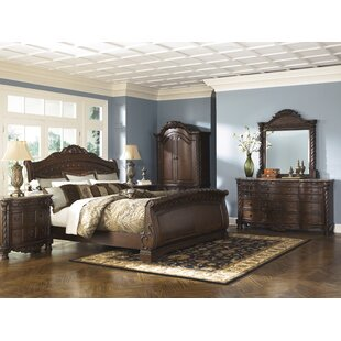 Astoria Grand Chapell Sleigh Configurable Bedroom Set