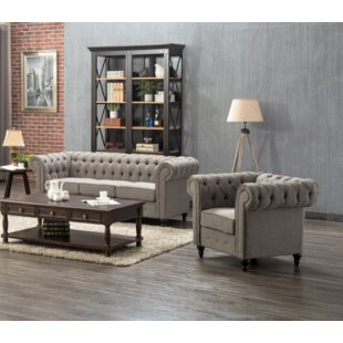 Price Check Amburgey 2 Piece Living Room Set by Darby Home Co Reviews (2019) & Buyer's Guide