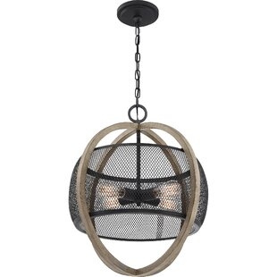 Click 4-Light Globe Pendant by Williston Forge