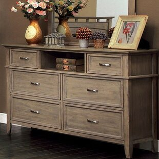 Darby Home Co Salvador 6 Drawer Double Dr..