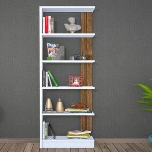 Geisler Modern Geometric Bookcase by Ebern Designs