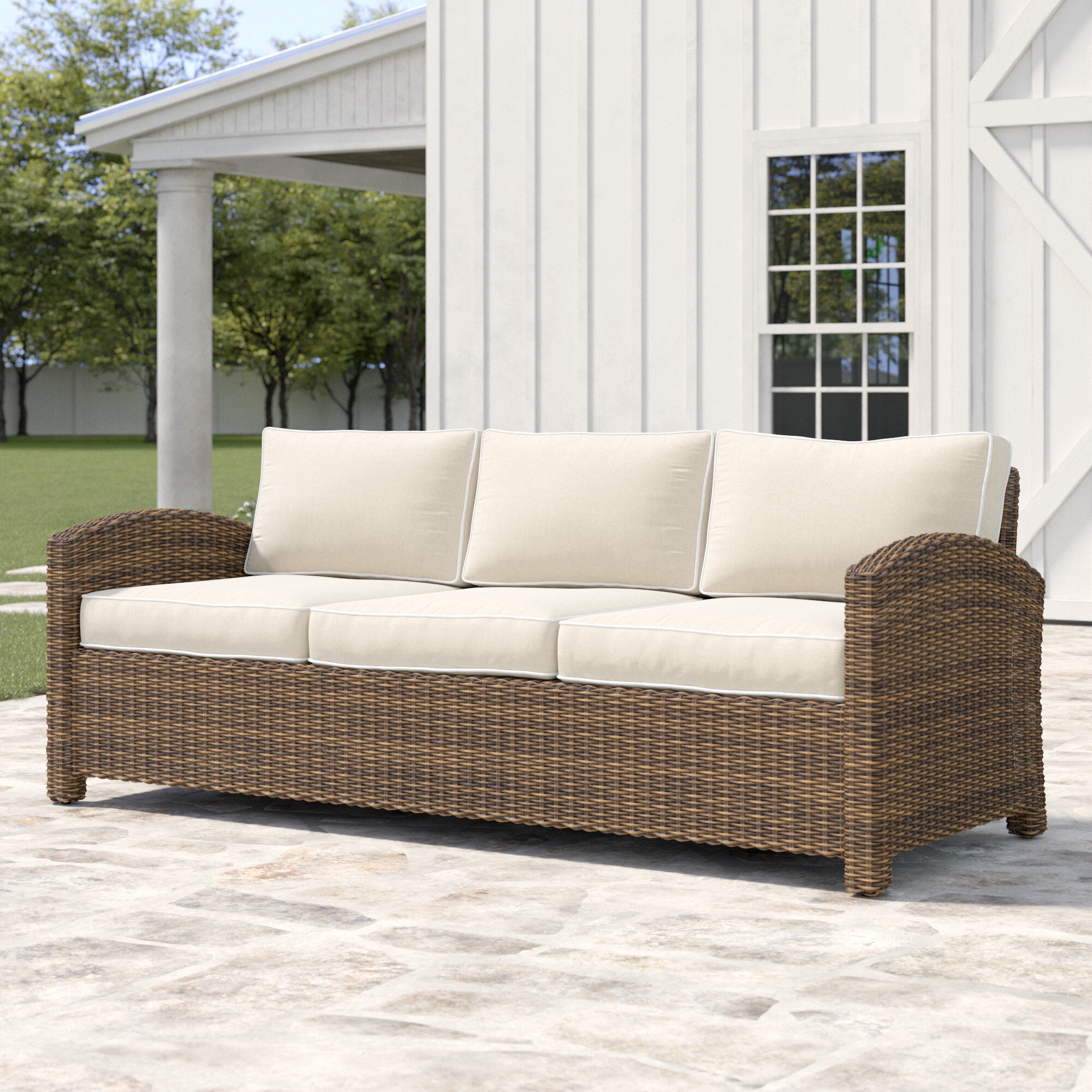 Lawson Patio Sofa With Cushions