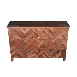 Frederick 6 Drawer Standard Dresser/Chest