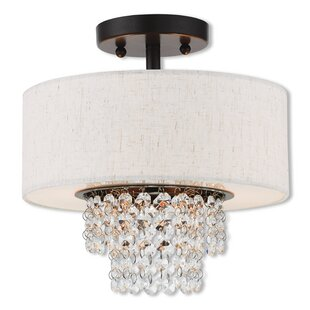 D'or Semi Flush Mount by Willa Arlo Interiors