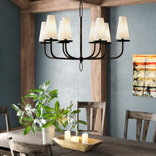 Chandelier With Fabric Shades