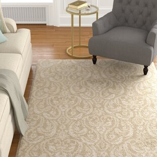 Reviews BatchlerWool Khaki/Taupe Area Rug By Astoria Grand
