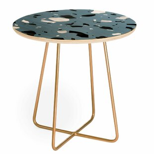 Savings Mareike Boehmer Terrazzo Round End Table by East Urban Home
