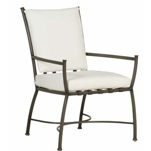 Majorca Patio Dining Chair with Cushion (Set of 2)