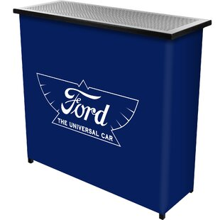 Trademark Global Ford the Universal Car Bar with Case