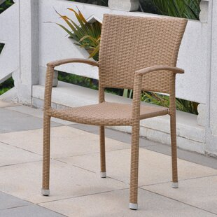 Brayden Studio Katzer Stacking Patio Dining Chair (Set of 4)