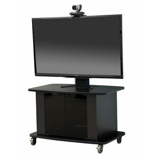 Mobile AV Cart with Single Monitor Mount by VFI