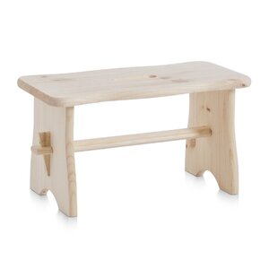 1-Step Wooden Step Stool