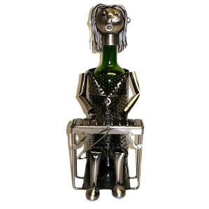 Pianist 1 Bottle Tabletop Wine Rack by Three Star Im/Ex Inc.