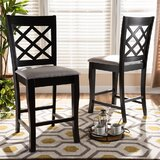 Mowrystown 25'' Counter Stool (Set of 2) by Red Barrel Studio®
