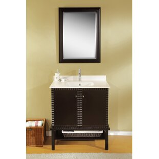 Simba 31 Single Bathroom Vanity Set with Mirror by Valore