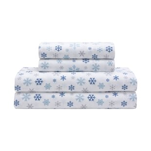Lillian Holiday Microfiber Print Sheet Set