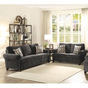 Pate Sleeper Configurable Living Room Set by Canora Grey