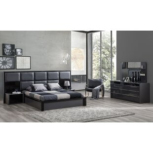 Milan Platform Configurable Bedroom Set