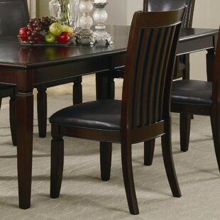Koster Wooden Dining Chair (Set of 2) by Alcott Hill