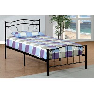 Coupon Hogarth Metal Twin Slat Bed by Harriet Bee Reviews (2019) & Buyer's Guide