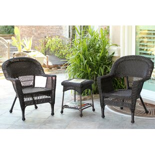 Burrough 3 Piece Conversation Set