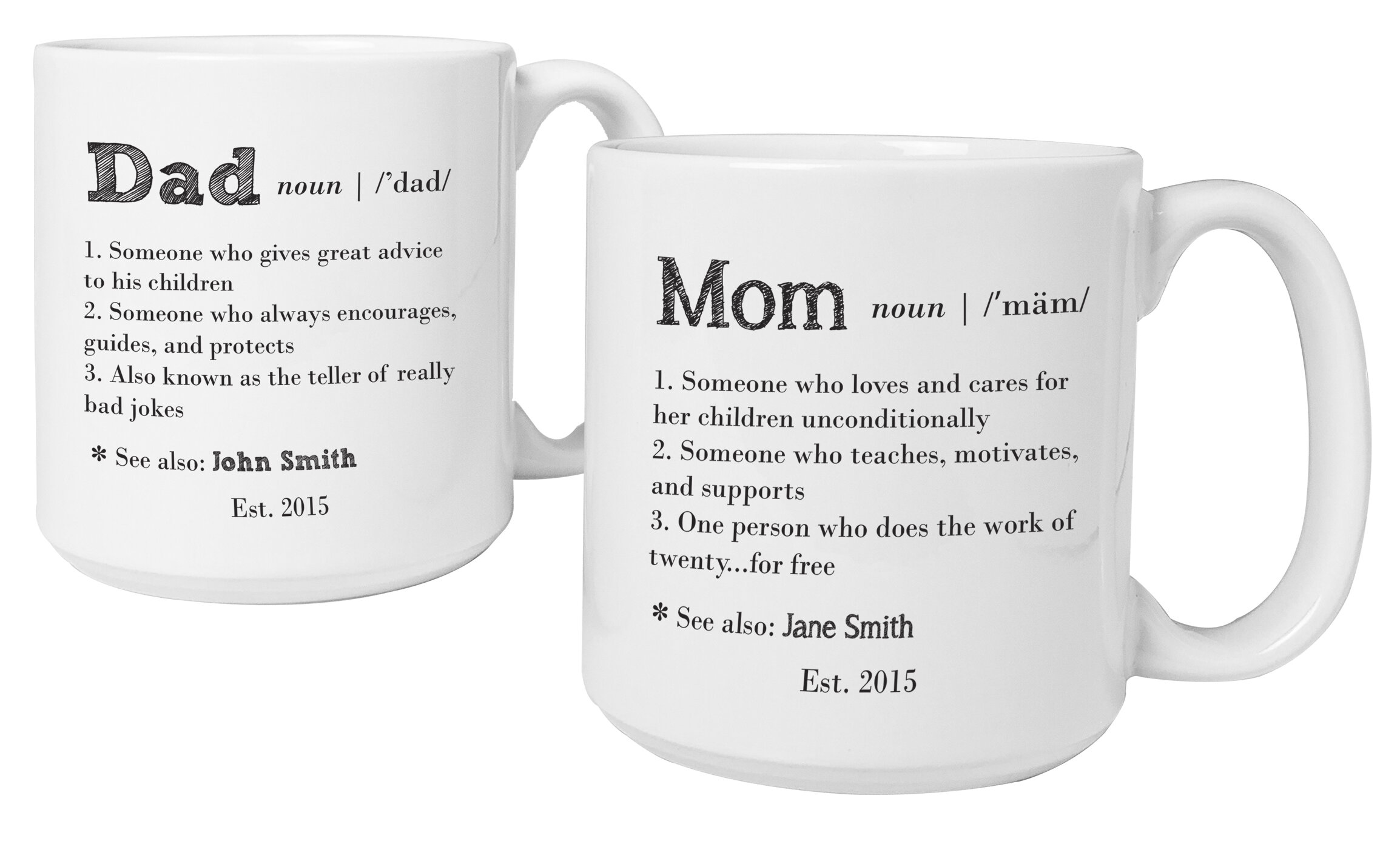 Cathys Concepts Personalized 20 Oz. Parent Definition Large Coffee ...