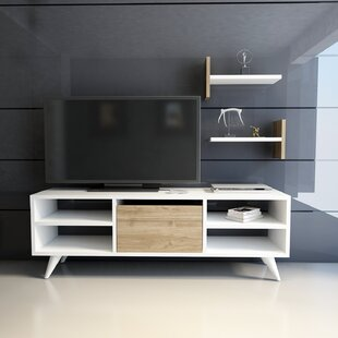 Reviews Demeter TV Stand for TVs up to 55 ByWrought Studio