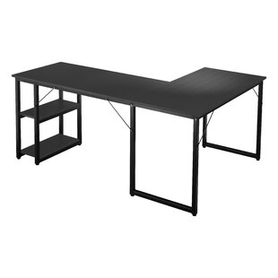 Hardaway L-Shaped Computer Desk