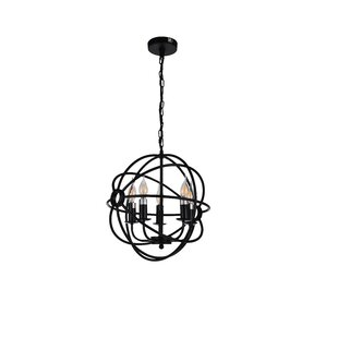 Gaffney 5-Light Globe Chandelier