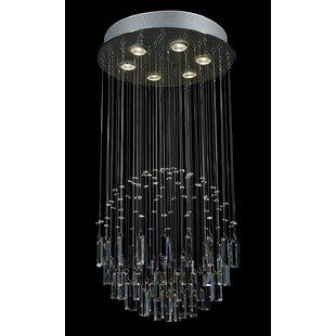 Everly Quinn Antoninus 6-Light Cluster Pendant