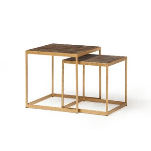 Lansford 2 Piece Nesting Table