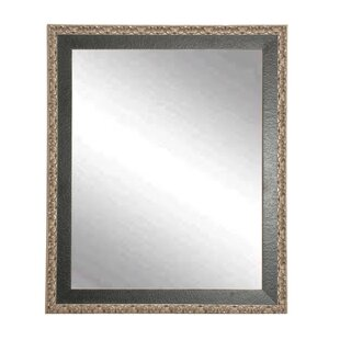 Affordable Price Noble and Pewter Wall Mirror By Brandt Works LLC