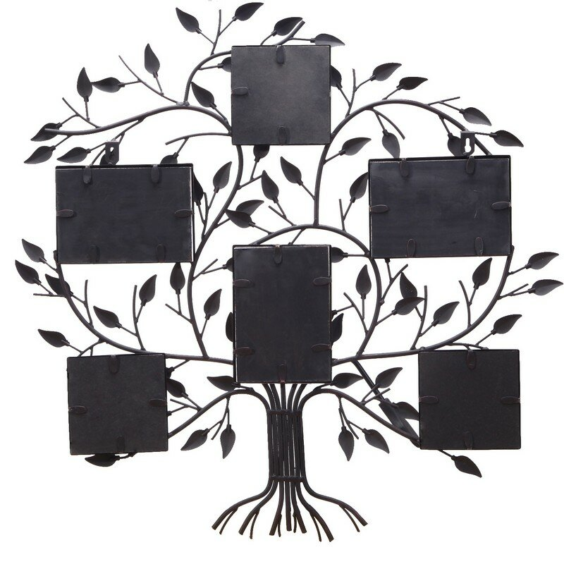 Red Barrel Studio 6 Opening Decorative Family Tree Wall Hanging ...