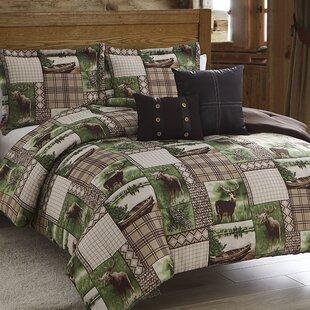 Loon Peak Jasmin 5 Piece Comforter Set