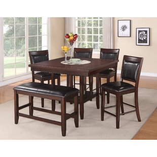 Fulton Counter Height Upholstered Dining Chair (Set of 2)