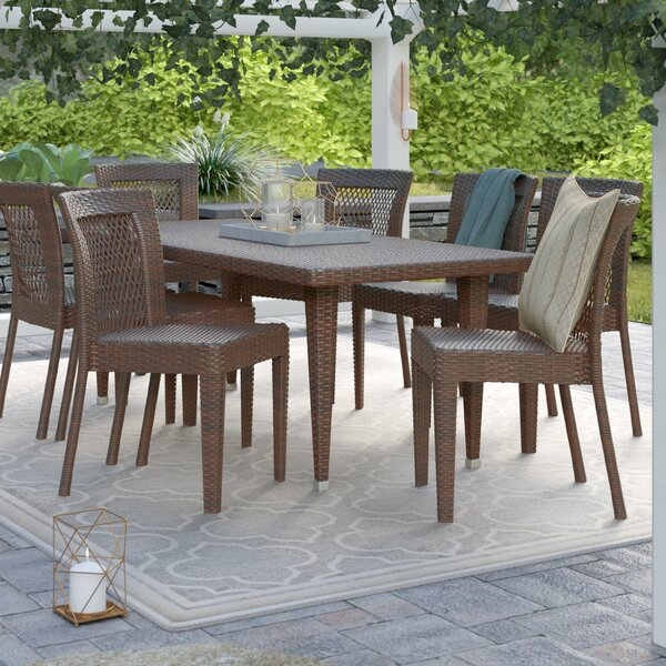 Bay Side 9 Piece Dining Set | Wayfair